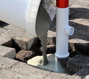 Schnellmörtel -Pollerfix-, für Betonfundamente von Pfosten, 25 kg, Aushärtung nach 10 Min (Ausführung: Schnellmörtel -Pollerfix-, für Betonfundamente von Pfosten, 25 kg, Aushärtung nach 10 Min (Art.Nr.: 37182))