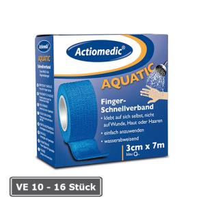 Schnellverband Actiomedic® -Aquatic-, Länge 7 m, selbsthaftend (Breite/Farbe/Verpackungseinheit (VE): 50 mm/ <b>blau</b>/10 Stk. (Art.Nr.: 25505))
