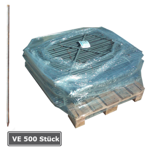 Schnurnagel mit angeschmiedeter Spitze, VE 500 Stück, Ø 20 mm, Länge 800 oder 1000 mm (Länge/Menge: 800 mm / VE 500 Stk. (Art.Nr.: 14138))