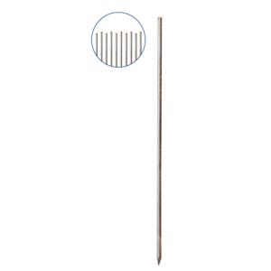 Schnurnagel mit angeschmiedeter Spitze, Ø 18 mm, Länge 800 bis 1200 mm, VPE 10 Stk. (Länge/Menge: 800 mm / VPE 10 Stk. (Art.Nr.: 301808f))