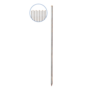 Schnurnagel mit angeschmiedeter Spitze, Ø 20 mm, Länge 800 bis 1200 mm, VPE 10 Stk. (Länge/Menge: 800 mm / VPE 10 Stk. (Art.Nr.: 302008f))