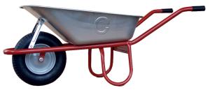 Schubkarre Capito -Allcar 85-, 85 Liter, mit Kippbügel, Einzelabnahme oder Set 5 Stück (Lager/Menge: Rillen-Kugellager/Einzelabnahme (Art.Nr.: 50910al85kl))