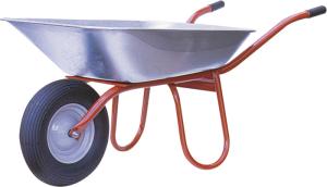 Schubkarre Capito -Carry-, 85 Liter, Einzelabnahme oder Set 5 Stück (Lager/Menge: Rillen-Kugellager/Set 5 Stück (Art.Nr.: 51960cakl-ve5))