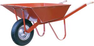 Schubkarre Capito -Matador-, 85 Liter, Einzelabnahme oder Set 5 Stück (Bereifung/Lager/Menge: Luftrad mit Rillen-Kugellager<br>Radgröße 400x100mm<br>Set 5 Stück (Art.Nr.: 50930makl-ve5))