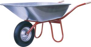 Schubkarre Capito -Praktica 120-, 120 Liter, Einzelabnahme oder Set 5 Stück (Lager/Anlieferung/Menge: Rillen-Kugellager/ <b>zerlegt</b><br>Set 5 Stück (Art.Nr.: 51970prkl12-ve5))