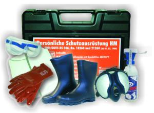 Schutzausrüstungskoffer -PSA HM-, nach ADR / GGVSE (Ausführung: Schutzausrüstungskoffer -PSA HM-, nach ADR/GGVSE (Art.Nr.: 35856))