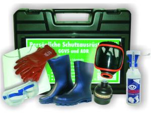 Schutzausrüstungskoffer -PSA III-, nach ADR / GGVSE (Ausführung: Schutzausrüstungskoffer -PSA III-, nach ADR/GGVSE (Art.Nr.: 35857))