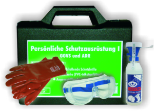 Schutzausrüstungskoffer -PSA I-, nach ADR / GGVSE (Ausführung: Schutzausrüstungskoffer -PSA I-, nach ADR/GGVSE (Art.Nr.: 35853))
