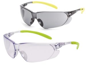 Schutzbrille -PremiumLine DELIA FLEX- aus Polycarbonat, für Gehörschutz und Schutzhelm (Scheibentönung: klar (Art.Nr.: 36981))