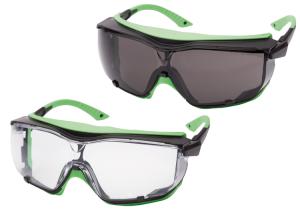Schutzbrille -VAKUR- aus Polycarbonat, versch. Ausführungen (Scheibentönung: klar (Art.Nr.: 36983))