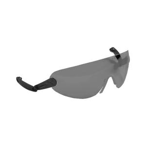 Schutzbrille, integriert, aus Polycarbonat, versch. Ausführungen für Schutzhelme -G3000C- (Scheibentönung/Anwendungsbereich:  <b>gelb</b><br>Oberflächentechnik,Wald,<br>kontrastarme Umgebung (Art.Nr.: 35095))