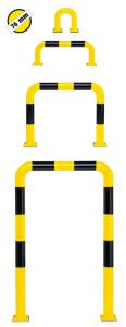 Schutzbügel -Mountain- Ø 76 mm, zum Aufdübeln, verschiedene Größen (Maße (HxB)/Oberfläche:  <b>350 x 375 mm</b> / beschichtet<br> <b>ohne Streifen</b> (Art.Nr.: 25798))