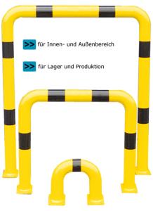 Schutzbügel -Solid- aus Stahlrundrohr Ø 76 mm