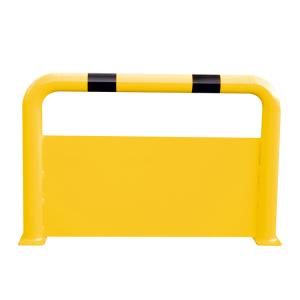 Schutzbügel -Solid- Ø 76 mm, mit Unterfahrschutz (Breite/Höhe/Befestigung: 750mm/650mm/zum Einbetonieren (Art.Nr.: 477.12b))
