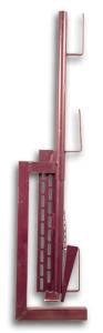 Schutzgeländerzwinge mit Keilverstellung (Modell: lackiert (Art.Nr.: 11193))