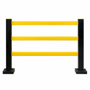 Schutzgitter -Hybrid-, TÜV-geprüft, versch. Ausführungen (Variante/Maße (HxB): starr, ohne PU-Element<br> <b>1000 x 1100 mm</b> (Art.Nr.: 40486))