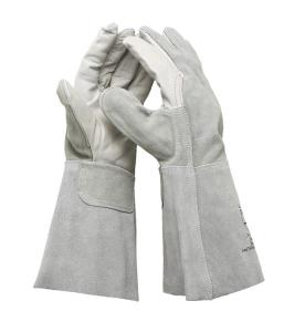 Schweißerhandschuh -ClassicLine- aus Spaltleder (vollständig), nach EN 388, CE-geprüft (Ausführung: Schweißerhandschuh -ClassicLine- aus Spaltleder (vollständig), nach EN 388, CE-geprüft (Art.Nr.: 35168))