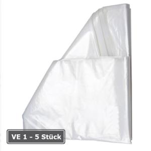 Seitenfaltenbeutel aus Kunststoff, 1000 oder 2500 Liter, transparent, VE 10 Stk. (Volumen: 1000 Liter (Art.Nr.: 10288))