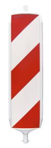Sicherheitsbake, KD-System, Folie RA1 oder RA2, BASt-geprüft nach TL-Leitbaken (Folie/Richtungsangabe:  <b>Folie RA1 (Typ 1)</b><br>rechts-/linksweisend (Art.Nr.: 29161))