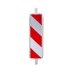 Sicherheitsbake -Typ 60W-, rechts- / linksweisend, verschiedene Folien (Folie: Schraffenfolie Typ RA1 (Art.Nr.: 36055w1))