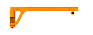 Sicherheitsschranke -Bounce- aus PU, selbstschließend, verschiedene Längen (Länge: 940 mm (Art.Nr.: 34089))