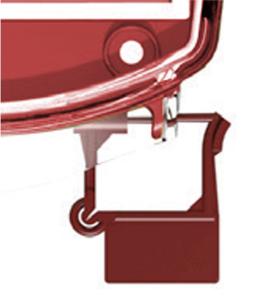 Sicherungsset für Handmelder-Abdeckung -e-Cover®-, VPE 10 Stk. (Ausführung: Sicherungsset für Handmelder-Abdeckung -e-Cover®-, VPE 10 Stk. (Art.Nr.: 34776))