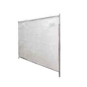 Sichtschutzplane für Bauzäune mit Aluminiumösen, zertifiziert nach CPAI 84, 1,75 x 3,40m, VPE 5 Stk. (Ausführung: Sichtschutzplane für Bauzäune mit Aluminiumösen, zertifiziert nach CPAI 84, 1,75 x 3,40m, VPE 5 Stk. (Art.
