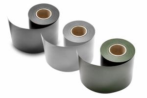Sichtschutzstreifen -Blickdicht- 35 m-Rolle für Doppelstabmatten -MIC- und -MAC- (Farbe: moosgrün (RAL 6005) (Art.Nr.: 24533))