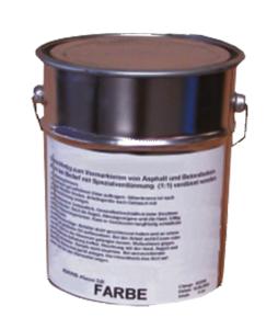 Silberbronze zur Vormarkierung, schnell trocknend, 5 oder 10 kg, für den Außenbereich (Inhalt: 5 kg (Art.Nr.: 37506))