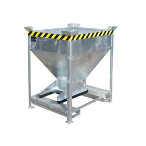 Silobehälter -Typ SG-D-, mit Einfahrtaschen und Stapelecken, für feinkörnige Schüttgüter