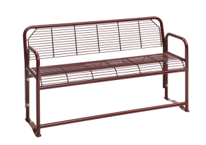 Sitzbank -Dita Plus- mit Arm- und Rückenlehne (Modell/Breite:  <b>2-Sitzer</b>/1200 mm (Art.Nr.: 34645))