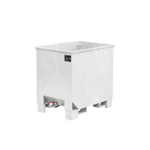 Spänekasten -Typ CS-, ideal für Flüssigkeiten und Feststoffe, stapelbar, mit Einfahrbügel