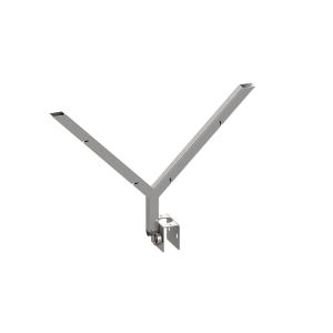Stacheldrahthalter Y-Form, aus Stahl (Ausführung: Stacheldrahthalter Y-Form, aus Stahl (Art.Nr.: 3b156))
