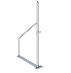 Ständer für Holzbauzaun, Höhe 1815 mm (Ausführung: Ständer für Holzbauzaun, Höhe 1815 mm (Art.Nr.: 3b160))