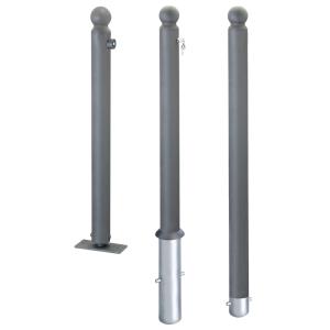 Stahlpoller -Citytrend- Ø 76 mm, ortsfest oder herausnehmbar