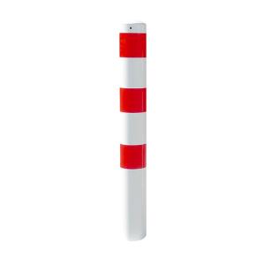 Stahlrohrpoller / Rammschutzpoller -Bollard- Ø 193mm, herausnehmbar, wahlweise mit Ösen