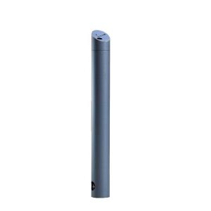 Standascher -Talos- Ø 108 mm aus Stahl, zum Einbetonieren, feststehend und herausnehmbar mit 3p