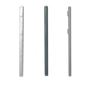 Standrohre zum Einbetonieren, f&uuml;r Rohr- oder Bandschellenbefestigung, &Oslash;60 / 76 / 82,5mm, L&auml;nge 1500mm (Durchmesser/Farbe: &Oslash; 60mm/ <b>ohne Farbe</b> (Art.Nr.: 12616))