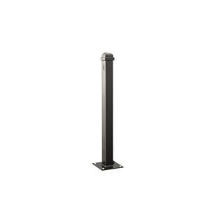 Stilpfosten aus Stahl, 70 x 70 mm