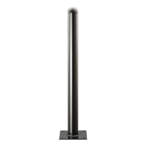 Stilpfosten Ø 76 mm, Stahl,  mit Sollbruchstelle, zum Einbetonieren, Aufdübeln oder Herausnehmbar