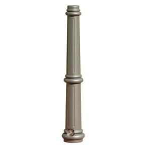 Stilpoller -Aulis- Ø 74 mm aus Aluguss, zum Einbetonieren, feststehend oder herausnehmbar mit 3p