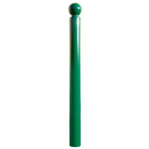 Stilpoller -Bowl- Ø 76 mm aus Stahl, zum Einbetonieren, feststehend, wahlweise mit Ösen