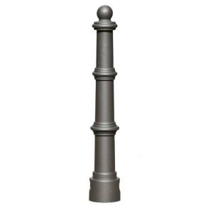 Stilpoller -Hylas- Ø 80 mm aus Aluguss, zum Einbetonieren, feststehend oder herausnehmbar mit 3p