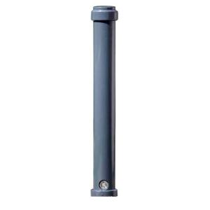 Stilpoller -Keren- Ø 105 mm aus Aluguss, zum Einbetonieren, feststehend oder herausnehmbar mit 3p-Technologie (Sollbruchstelle)