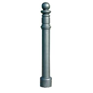 Stilpoller -Themis- Ø 90 mm aus Aluguss, zum Einbetonieren, mit 3p-Technologie (Sollbruchstelle)