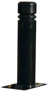 Stilpoller -Trend- Ø 114 mm aus Stahl, zum Einbetonieren, umlegbar (Farbe: RAL 6005 moosgrün (Art.Nr.: 24015))