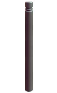 Stilpoller -Trend- Ø 76 mm aus Stahl, zum Einbetonieren, feststehend (Farbe: Cortenstahl Optik (Art.Nr.: 22099-10))