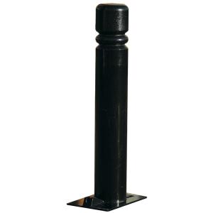 Stilpoller  -Trend- Ø 76 mm aus Stahl, zum Einbetonieren, umlegbar (Farbe: RAL 6005 moosgrün (Art.Nr.: 24005))