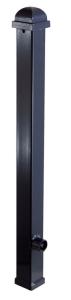 Stilpoller Vierkantrohr 70 x 70 mm mit Zierkopf