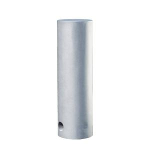 Stilpoller -Zetes- Ø 220 mm aus Aluguss, zum Einbetonieren, mit 3p-Technologie (Sollbruchstelle)